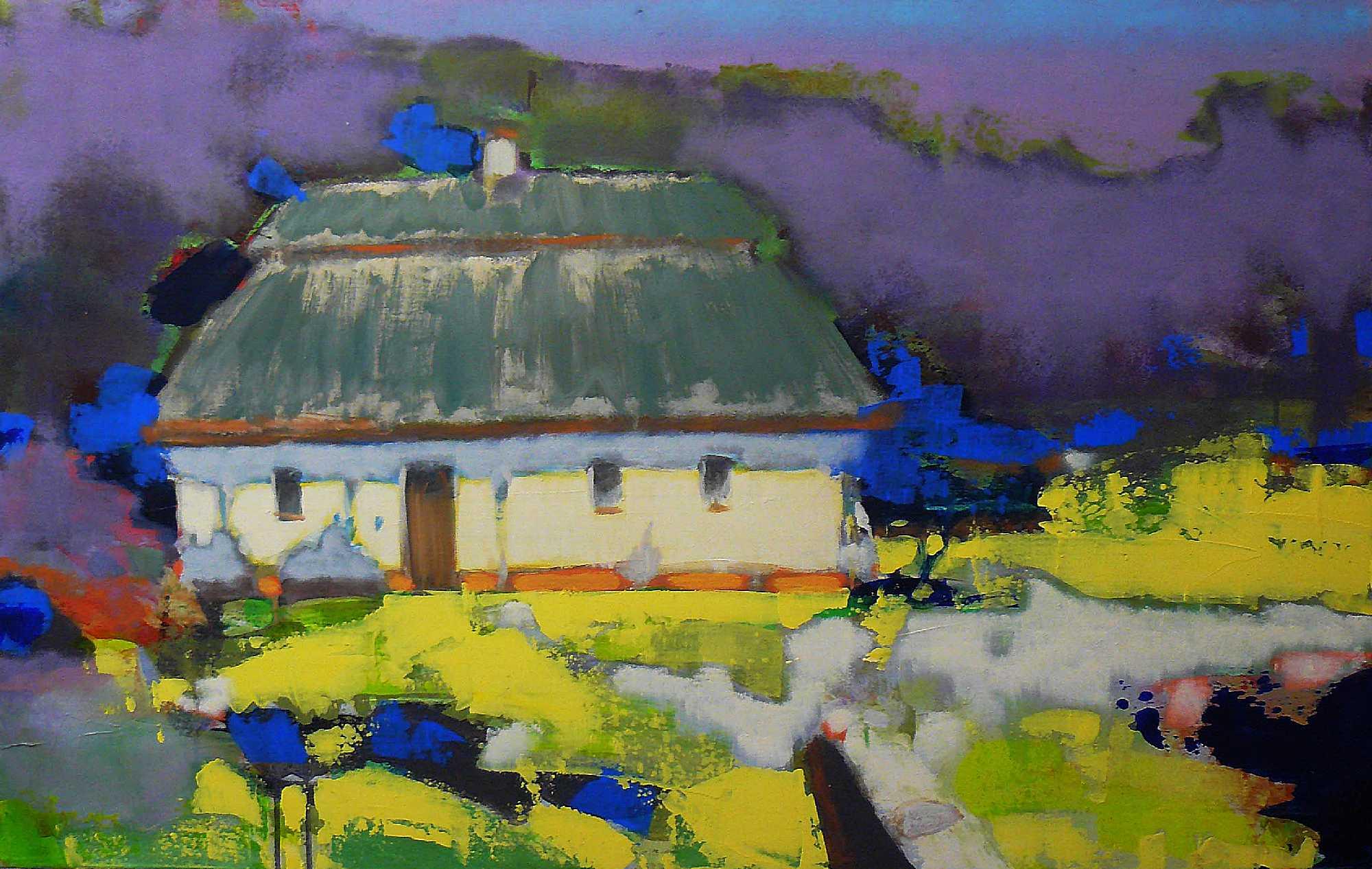 «Трансформация. Украинское село» Выставка – живопись Семен Щербина