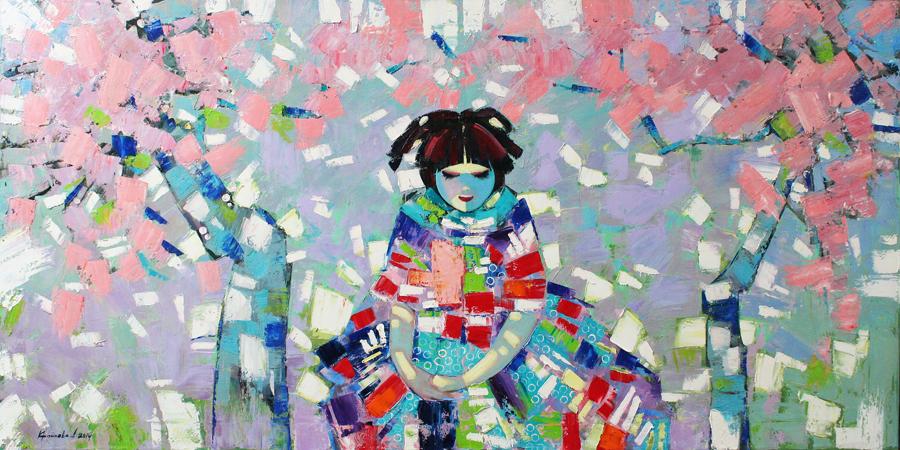LERA LITVINOVA GALLERY представляют: выставку весенней живописи Анастасии Крайневой «Ver Novum»