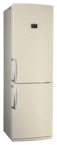 Холодильник LG c нижней морозильной камерой  GA-B 409 BEQA