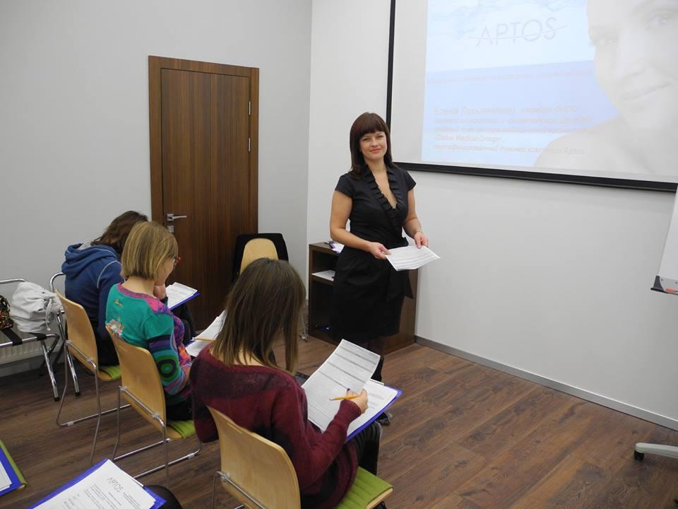 Обучение Aptos г.Киев 15 декабря 2015г.