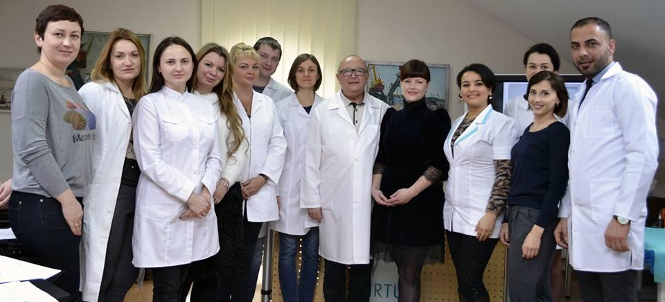 Сотрудничество с Европейской школой эстетической медицины г.Одесса