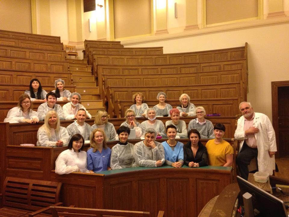 Фотоотчет.  Анатомический курс г.Прага. Группа 18-19-20 ноября 2016г.