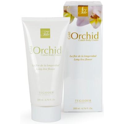 "Крем для тела ""Gold Orchid Cotton Body Cream""  200 мл"