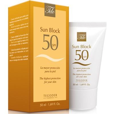 """Солнцезащитный крем для лица с фактором """"SPF-50  """"Sun Block SPF-50""""  50 мл"""