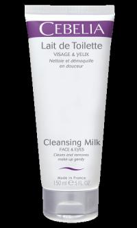 Cleansing milk Face & Eyes - Очищающее молочко для лица и глаз   150 мл
