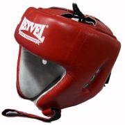 Шлем боксёрский REYVEL (кожа)