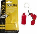 Свисток судейский, пластик FOX-80