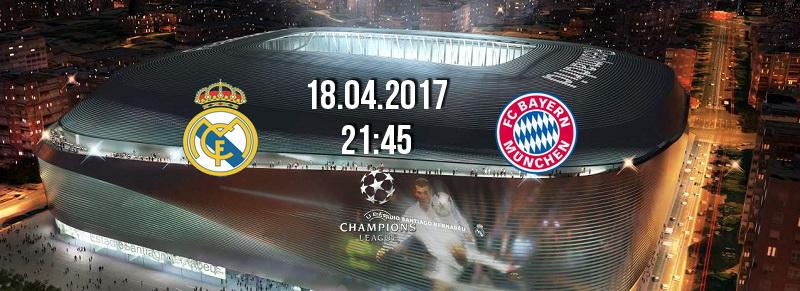 Реал-Бавария. 1/4 финала ЛЧ