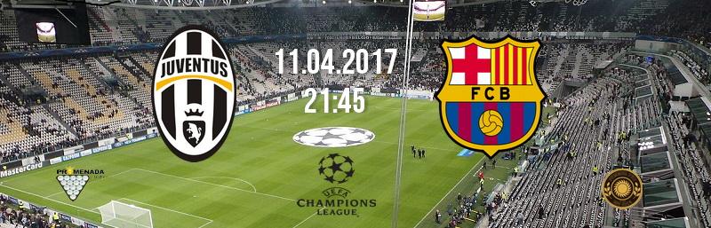 Ювентус-Барселона. 1/4 финала Лиги чемпионов