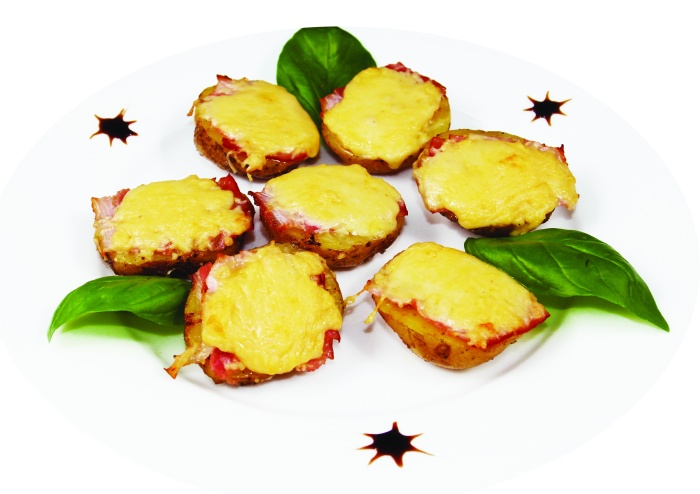 Картофель, запеч. в Josper