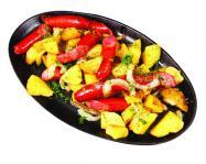 √ор.сковорода с колбасками