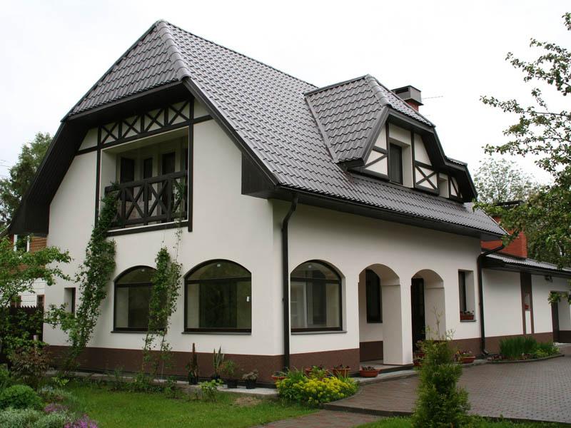 Дом в стиле шале Примеры загородных домов Интересные