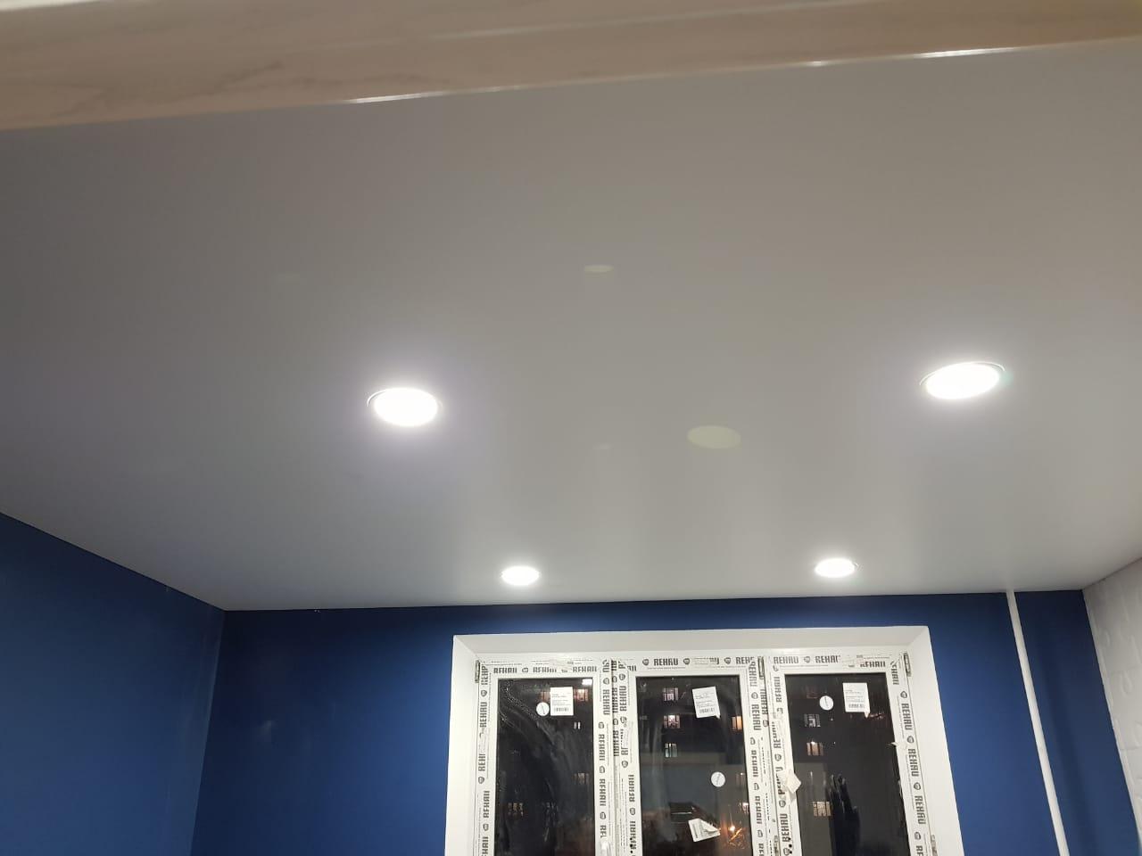 потолок с внутренней фотопечатью
