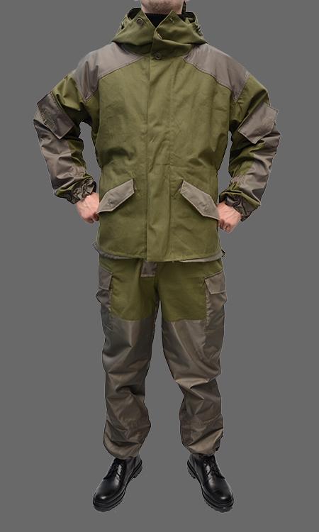 Костюм Горка из палаточной ткани 100% хлопок со вставками
