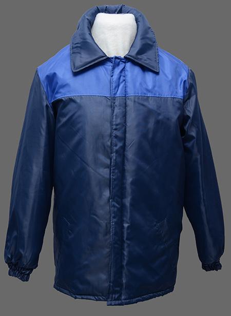 Куртка зимняя на синтепоне ткань плащевая комбинированная