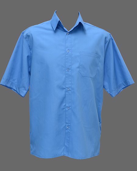 Тенниска мужская голубая