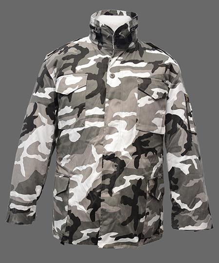 Куртка М-65 Город с отстегивающейся подстежкой