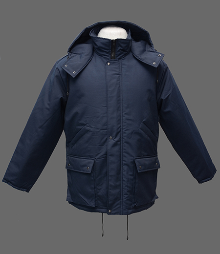 Куртка Тайга ткань плащевая Осло синее, черное