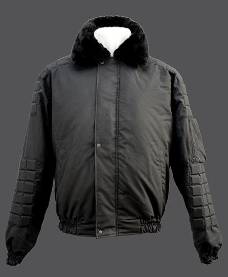 Куртка Титан черная ткань плащевая