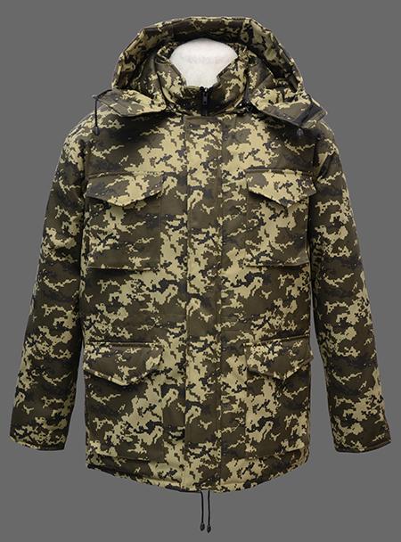 Куртка Защита ткань плащевая Грета пиксель