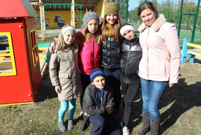 Поездка в детский дом Тараща и Барышивка
