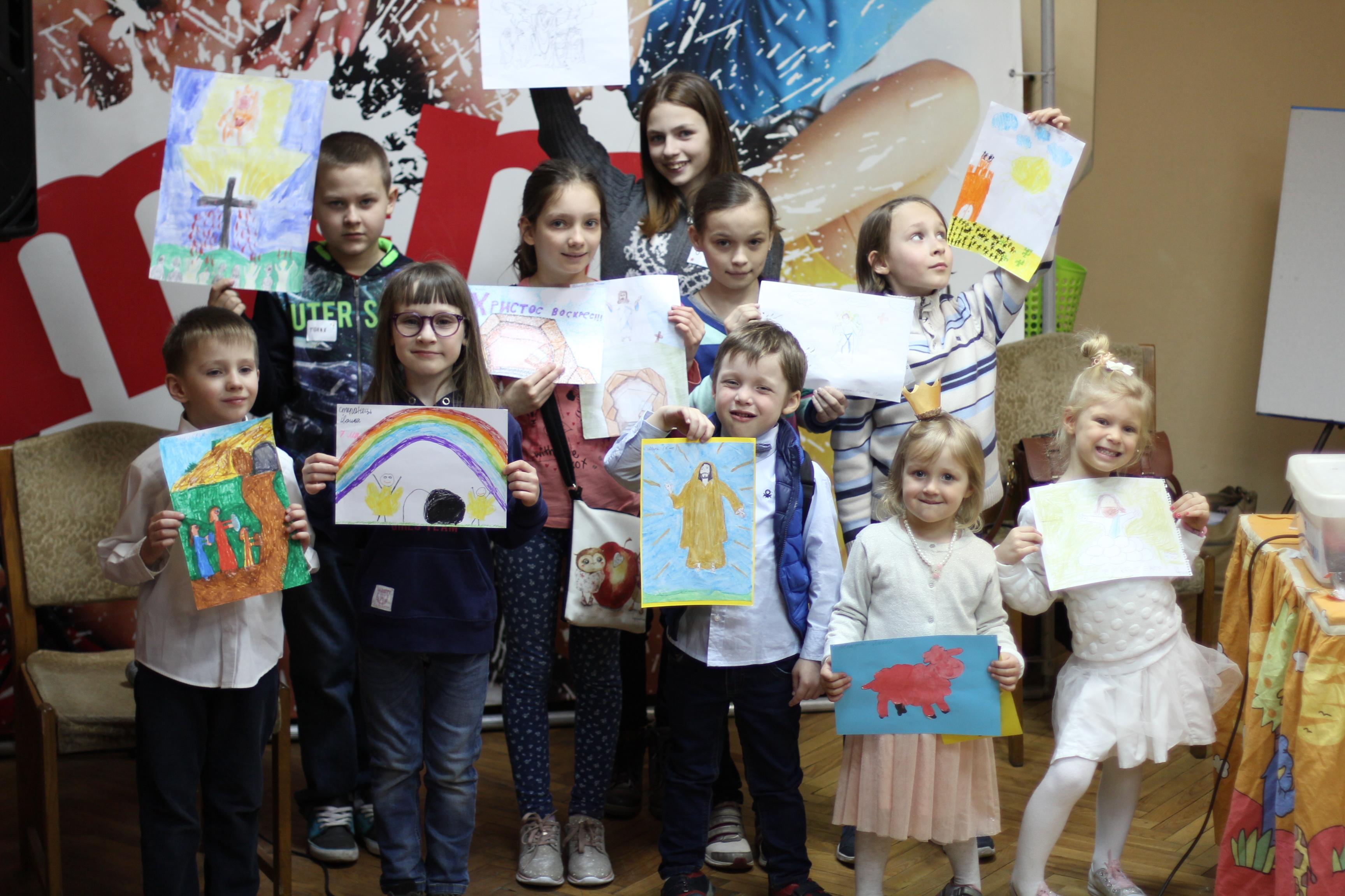 Победители конкурса пасхального рисунка