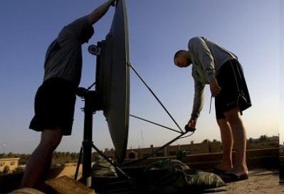 Монтаж спутниковой антенны