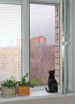 Купить сетку на окно