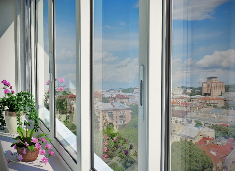 Замена стеклопакета окна