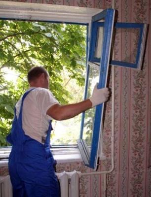 Демонтаж вікон