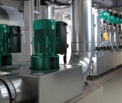 Монтаж насосного оборудования WILO