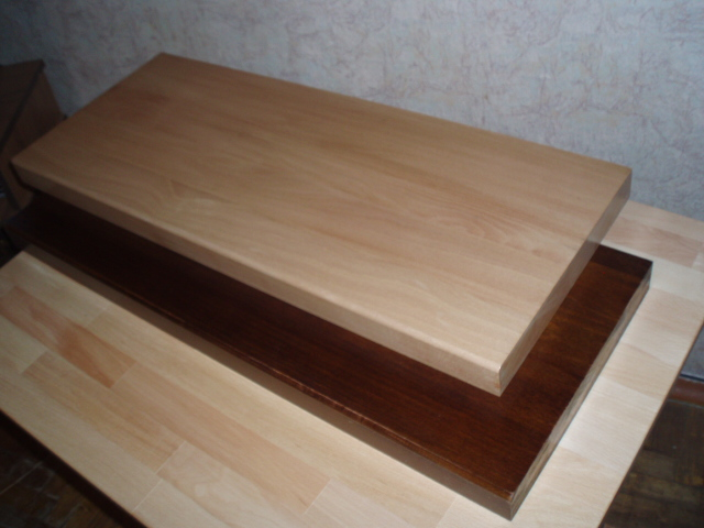 Мебельный щит 1000х400х28 мм хвоя, сорт A/B