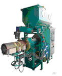Extruder for briquetting wastes ЕВ-350