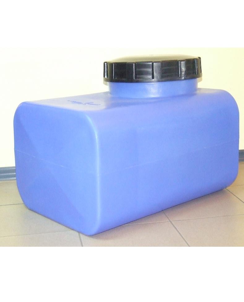 Горизонтальная  квадратная емкость НS 100