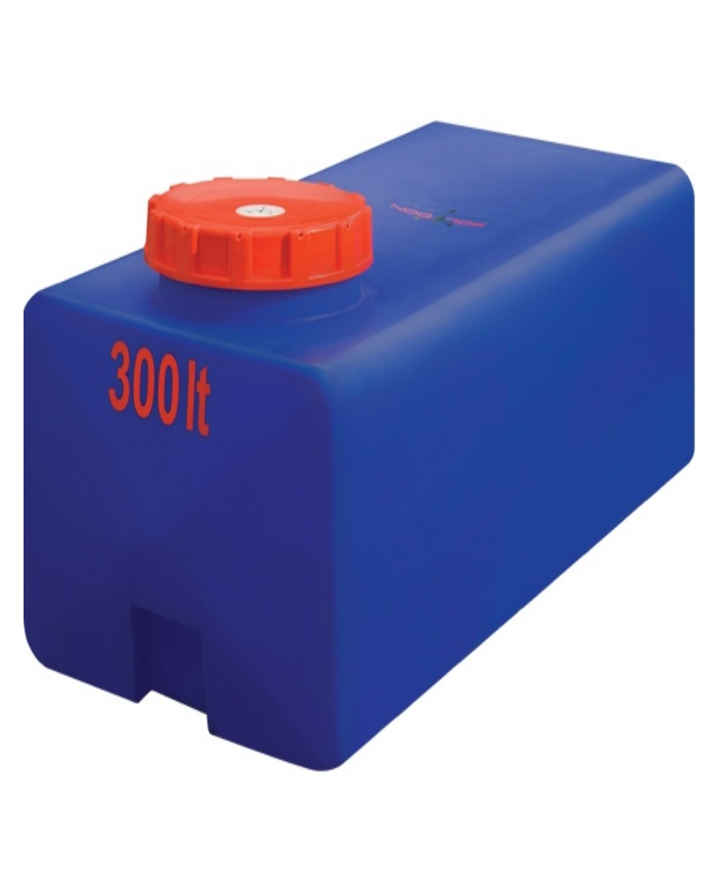 Горизонтальная  квадратная емкость НS 300