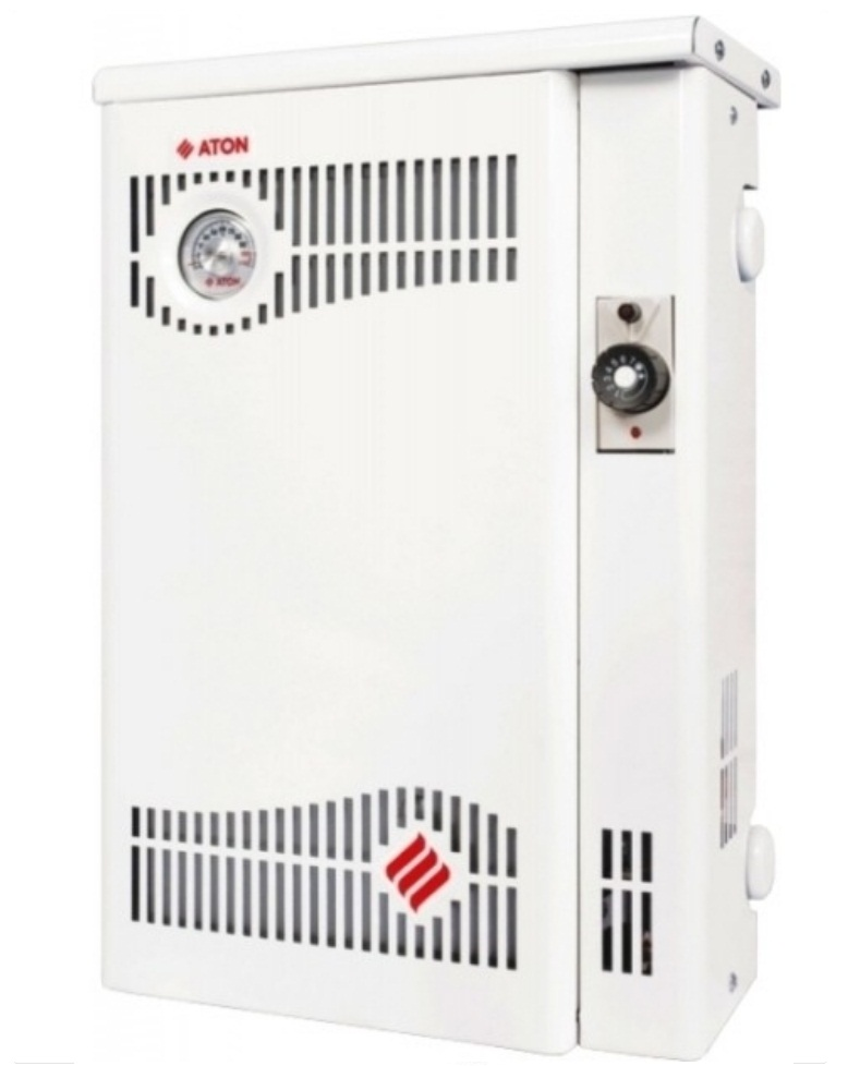 Aton АОГВМНД - 10Е Парапетный одноконтурный газовый отопительный котел.