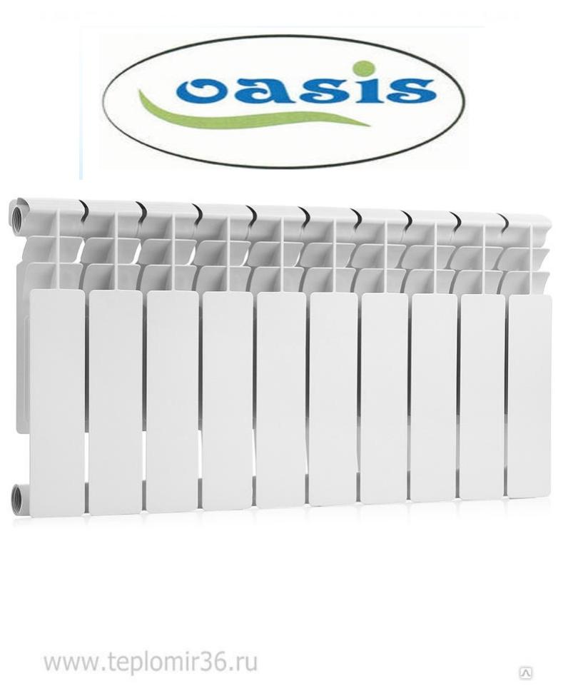 Биметаллический радиатор OASIS 350 / 80