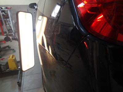 Toyota Удаление вмятины на заднем крыле