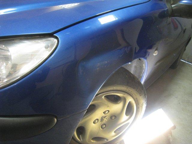 Крыло Peugeot (до)