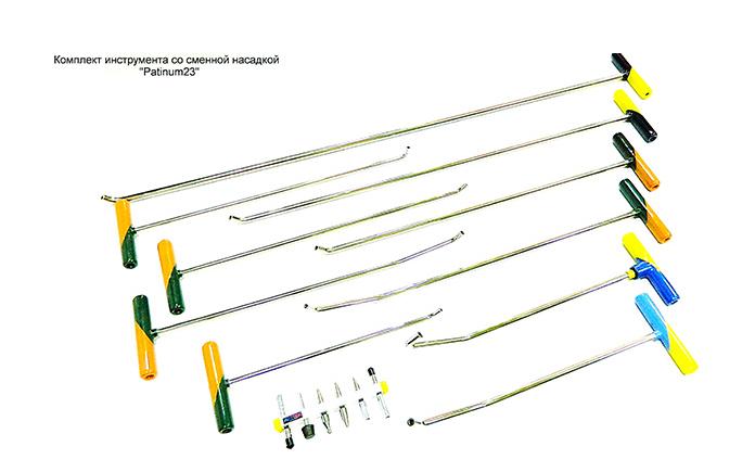 Комплект инструмента со сменной насадкой Рlatinum 23 (SN)