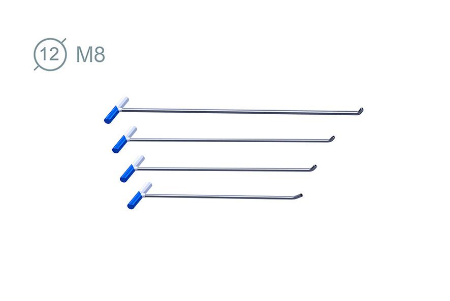 Набор инструмента со сменной насадкой 4 шт 02019