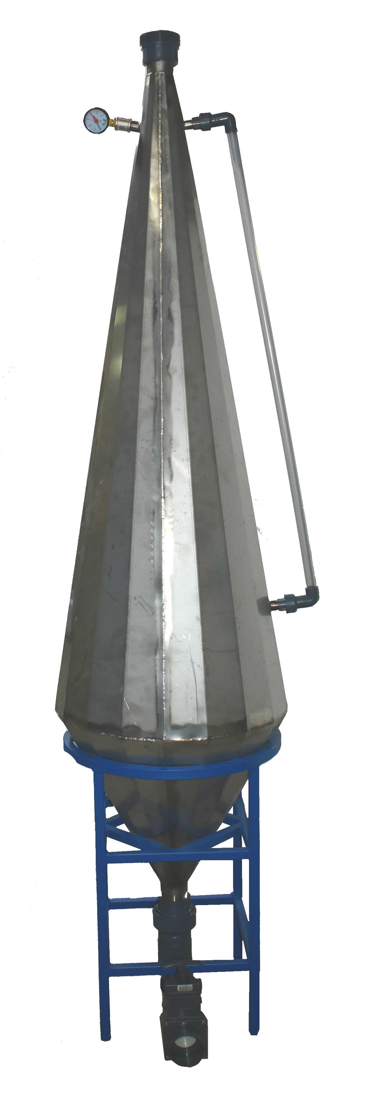 Кислородный конус 70м3/час из нержавеющей стали