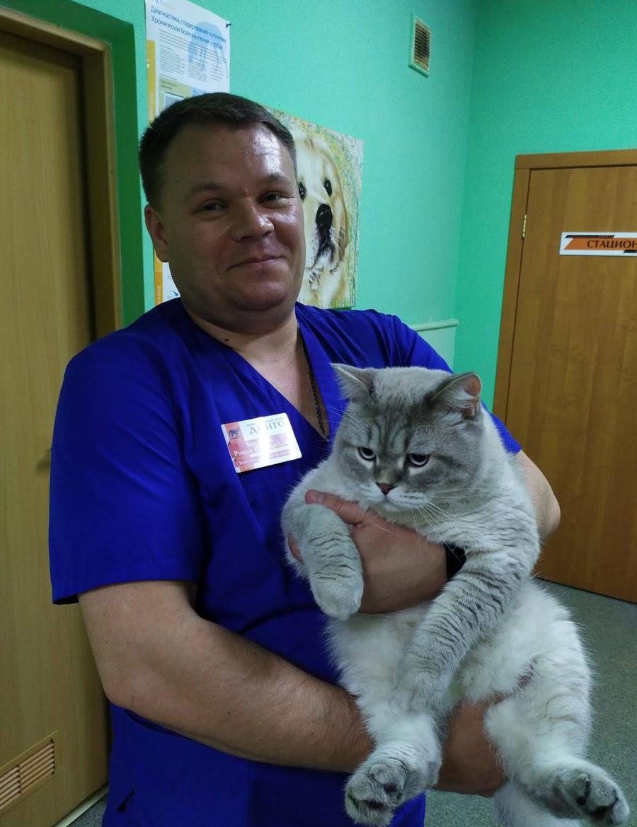 Бахтуров Роман Николаевич с пациентом