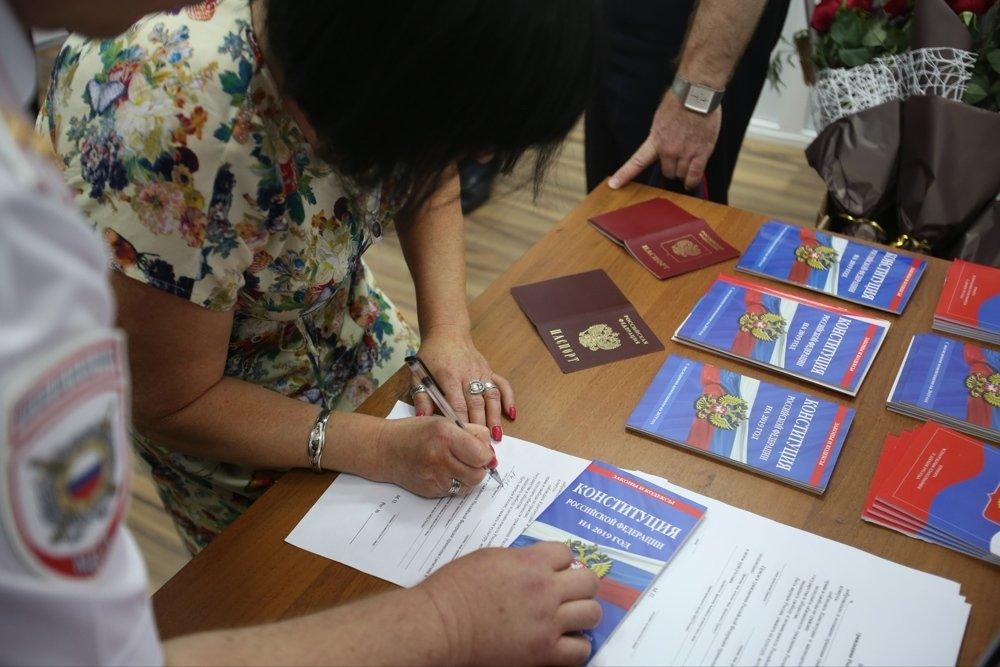 Почта Донбасса за неделю выдала почти 14 тысяч талонов на паспорта ДНР и РФ