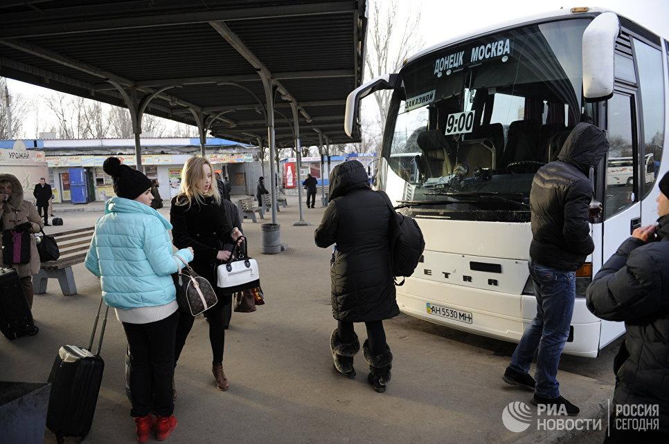 Из Москвы запустили зимние авторейсы в ДНР и ЛНР