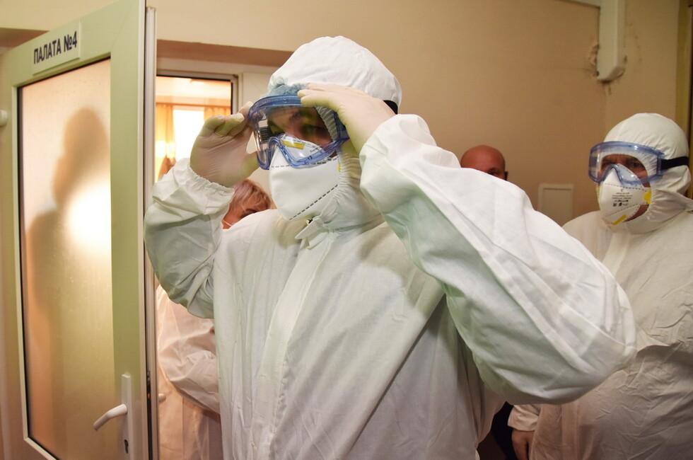 Пушилин пообещал обязательную вакцинацию отдельных категорий граждан