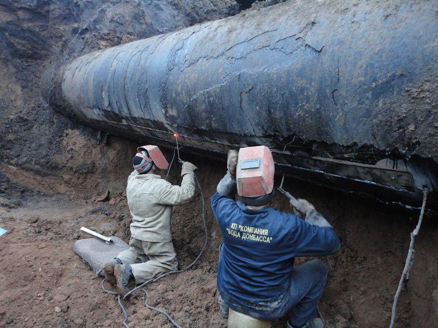 В пяти районах Донецка на сутки отключат воду