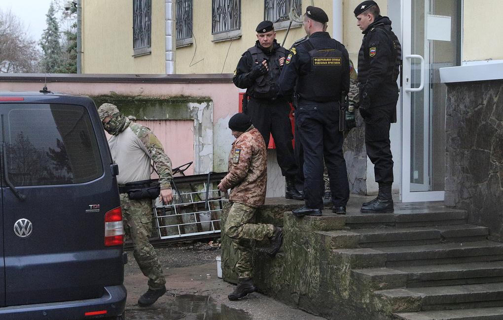 В Крыму арестовали 12 из 24 украинских моряков за нарушение границы РФ