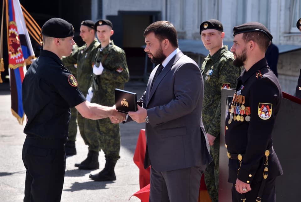 Денис Пушилин наградил бойцов легендарного батальона