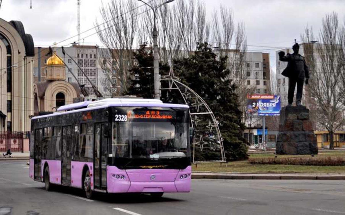 С 1 февраля цена проезда в общественном транспорте Донецка вырастет до 6 рублей